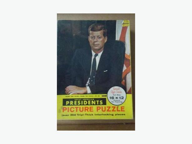 John F. Kennedy Jigsaw Puzzle