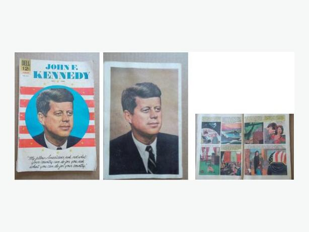 1964 Dell Comic - John F. Kennedy