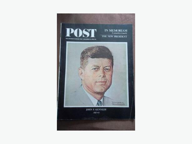1963 Issue of  The Saturday Evening Post-Assassination of John F.Kennedy