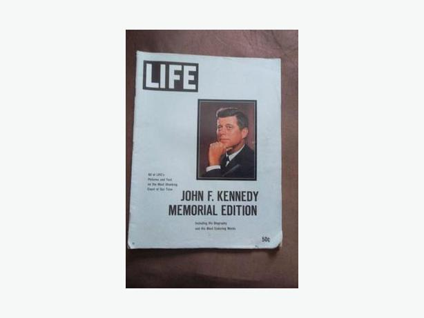 1963 John F. Kennedy - Special Edition of Life Magazine