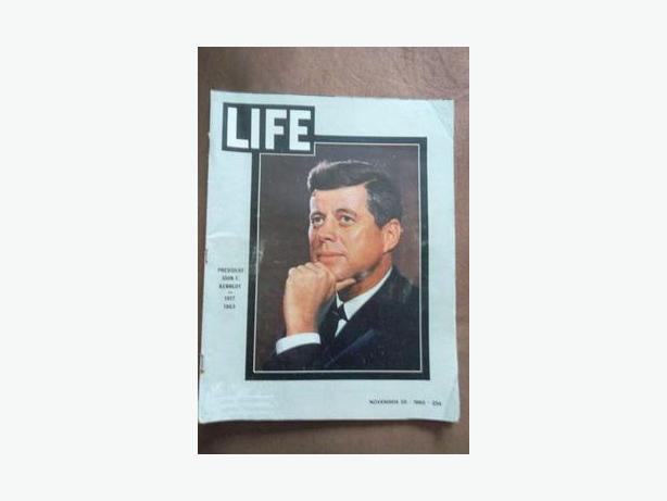 1963 Issue of Life Magazine - Assassination of John F. Kennedy