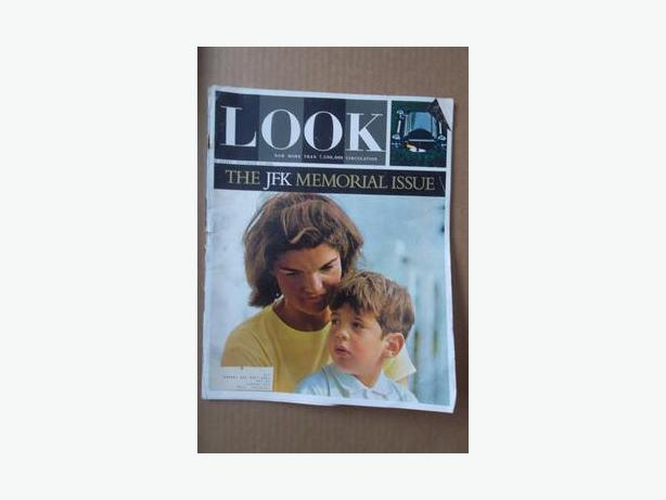 1964 Issue of Look Magazine - The JFK Memorial Issue