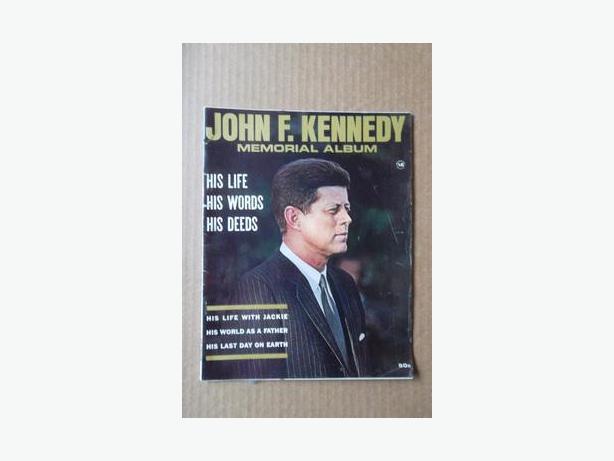 1964 John F. Kennedy Memorial Album