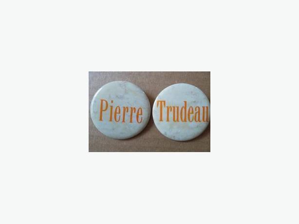 Pierre Trudeau Campaign Buttons