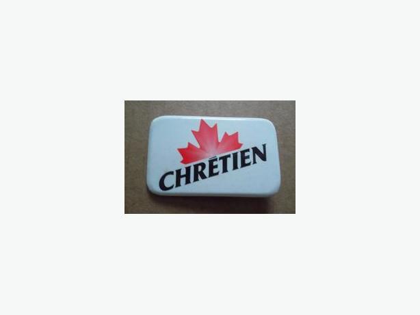 Jean Chretien (Liberal) campaign button