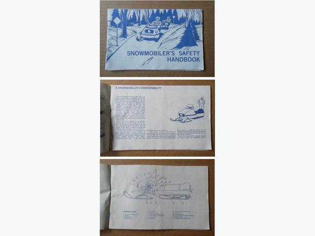 1975 Snowmobiler's Safety Handbook