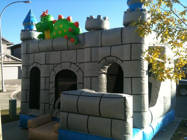 Rental Includes Delivery! Inflatable Dragon Bouncer & Slide
