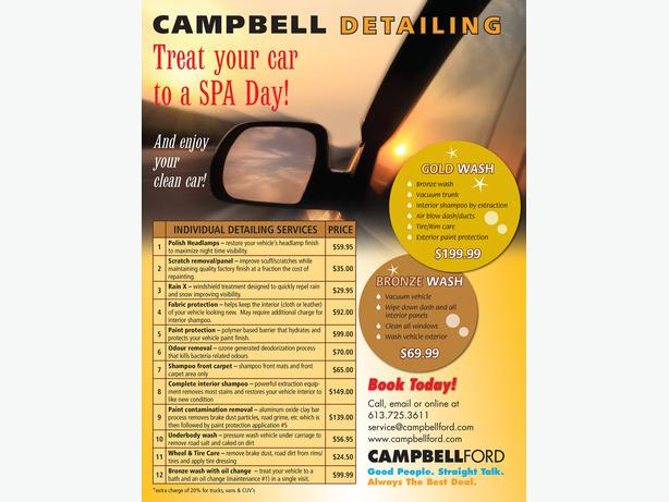 Detailing at Campbell Ford