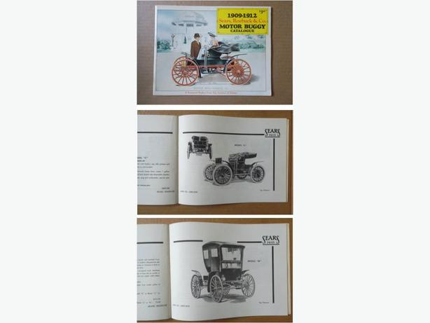 Sears, Roebuck & Co. Motor Buggy Catalogue Reprint