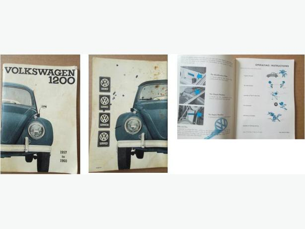 1957 - 1960 Volkswagen Beetle Instruction Manual