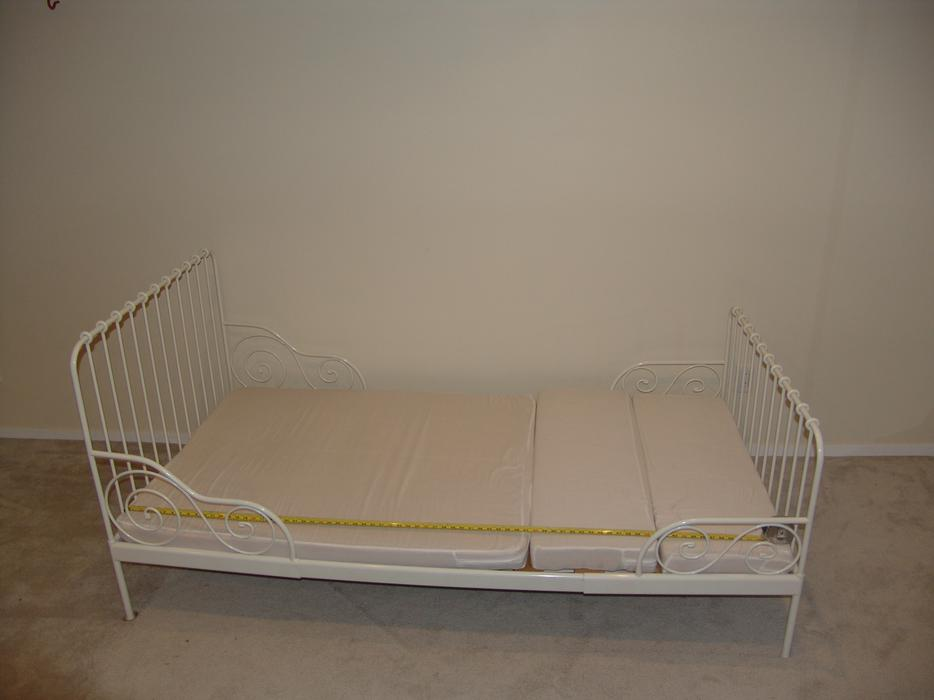 Ikea Extendable Toddler Bed Mattress ~ Ikea extendable bed MINNEN with extendable mattress Kanata, Ottawa