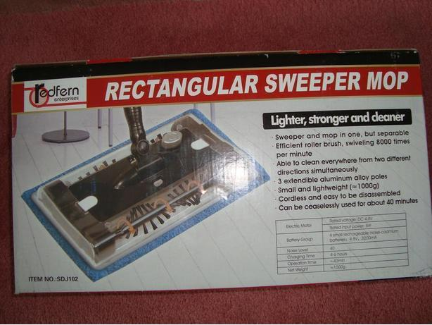 Rectangular Sweeper Mop