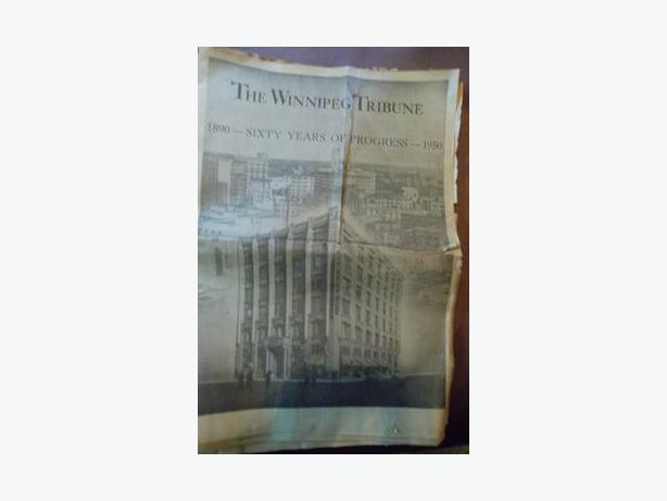 1950 Winnipeg Tribune 60th Anniversary Edition