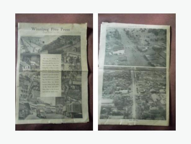 1950 Winnipeg Flood Newspaper