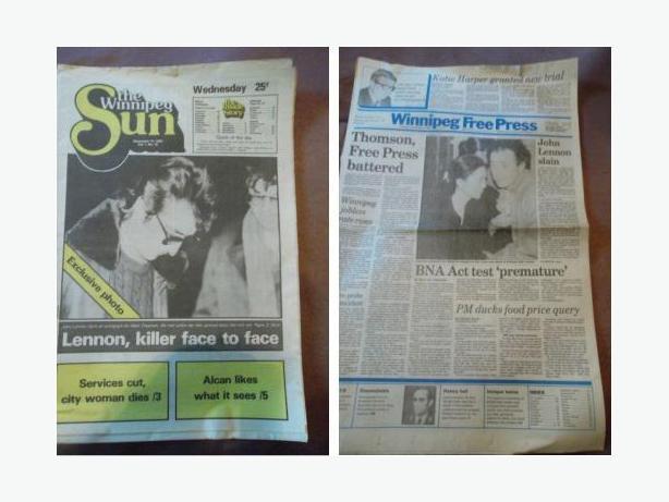 1980 Newspaper - Death of John Lennon