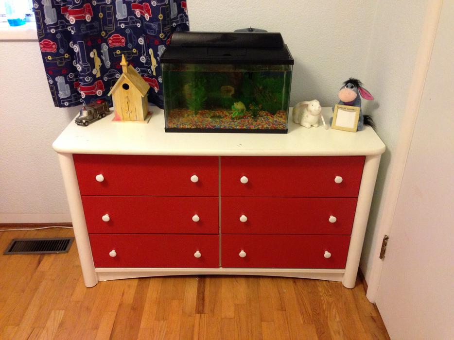 childs bed dresser desk combo unit from ikea victoria city victoria. Black Bedroom Furniture Sets. Home Design Ideas