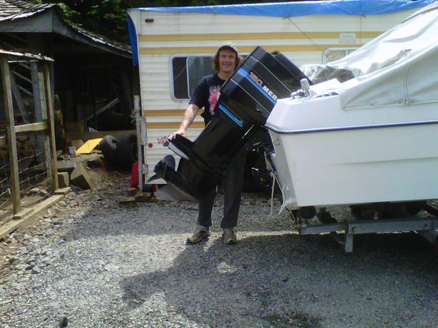 Mercury Blackmax 150 Outboard Motor Duncan Cowichan