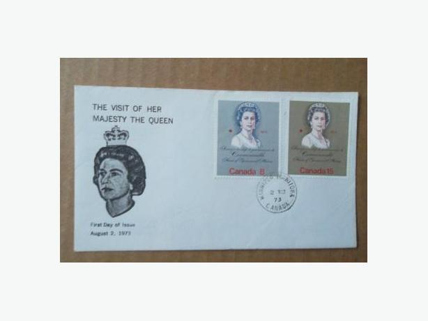 1973 Canadian First Day Cover - Queen Elizabeth II