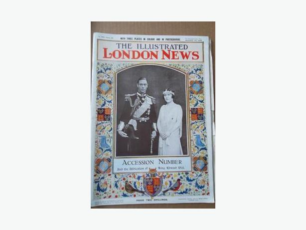 1936 King George VI Accession Magazine
