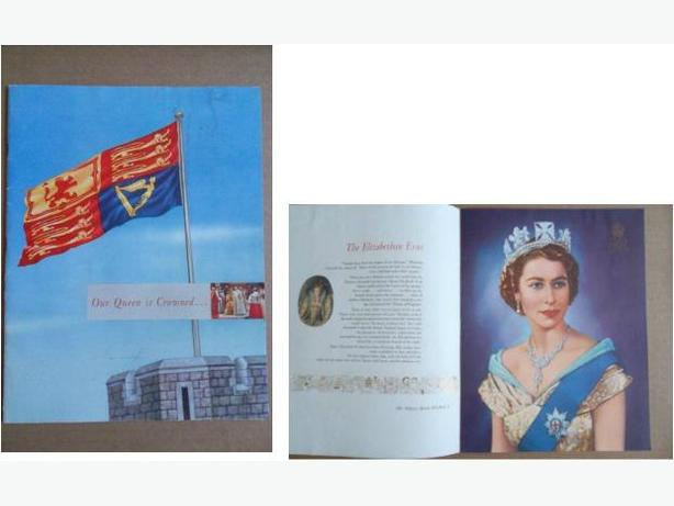 1953 Queen Elizabeth II Coronation Book