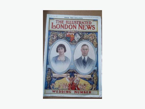 1923 King George VI Royal Wedding Magazine
