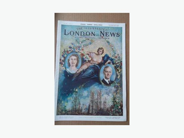 1947 Princess Elizabeth Royal Wedding Magazine