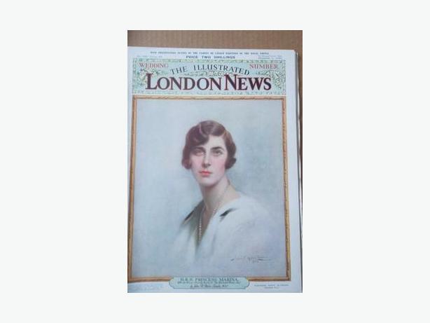 1934 Prince George - Princess Marina Royal Wedding Magazine