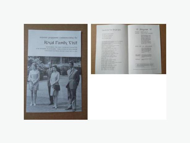 1970 Royal Family Visit Souvenir Programme
