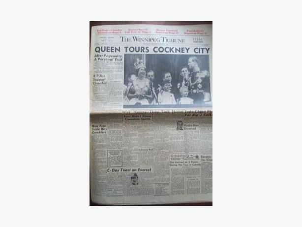 1953 Newspaper - Coronation of Queen Elizabeth II
