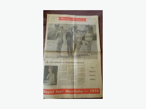 1970 Royal Tour Newspaper