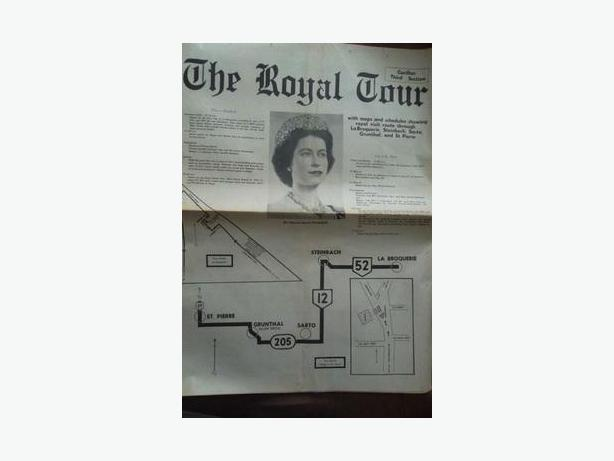 1970 Queen Elizabeth II - Royal Tour Newspaper