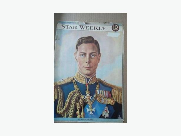 1939 King George VI Royal Visit Magazine