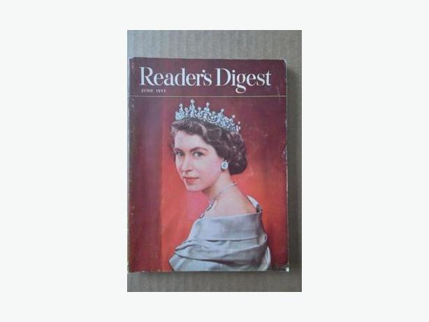 1953 Reader's Digest with picture of Queen Elizabeth II for herCoronation