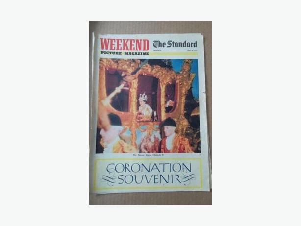 1953 Queen Elizabeth II Coronation Magazine
