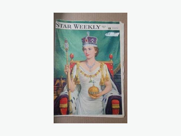 1953 Queen Elizabeth II Magazine