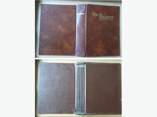 """The Beaver A Magazine of the North"" magazine binders"