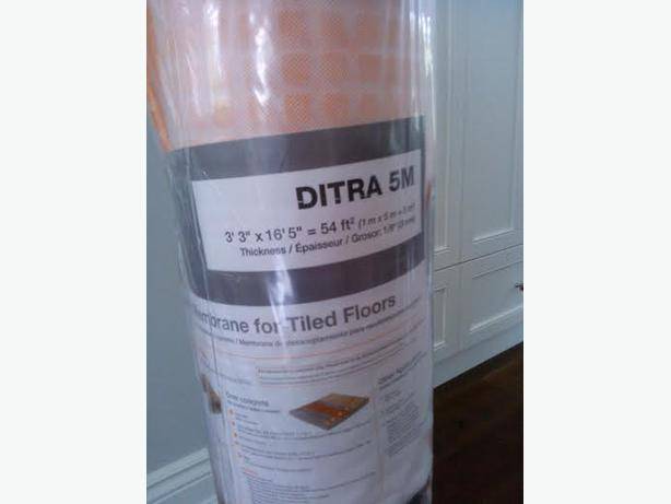 Schluter Ditra Lowes Schluter Ditra 3 ft 3 in x