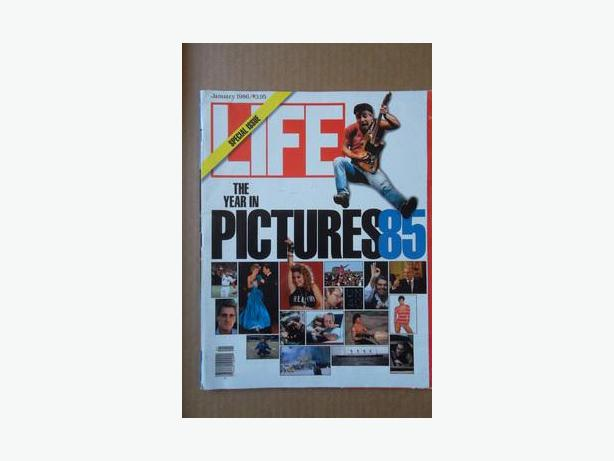 "1986 Life Magazine - ""The Year in Pictures 85 Special Issue"""
