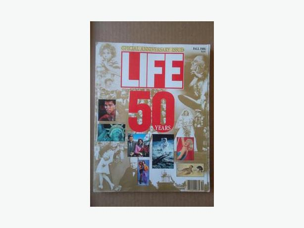 1986 - 50th Anniversary Issue of Life magazine