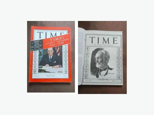 15th Annivesary Issue of Time Magazine