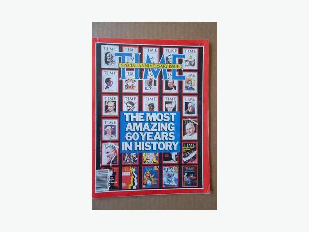 1983 Time Magazine 60th Anniversary