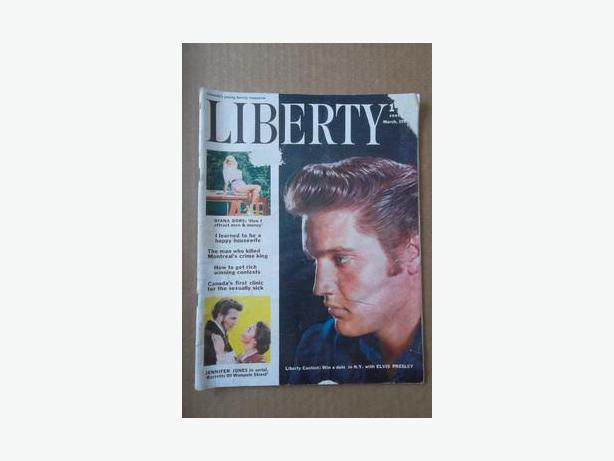 """1957 """"Liberty"""" magazine"""