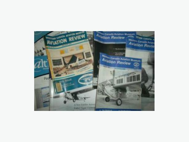 Western Canada Aviation Museum magazines
