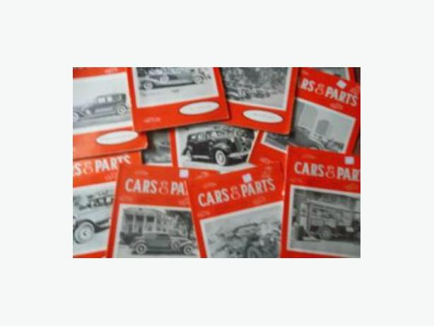 """Cars & Parts"" magazines"