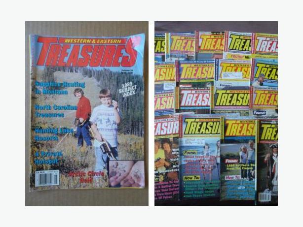 """Western & Eastern Treasures"" magazines"