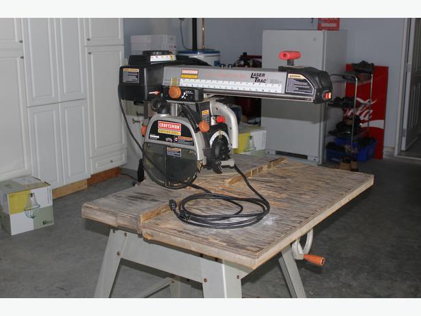 Craftsman radial arm saw 9058 manual