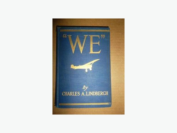 """WE"" by Charles Lindbergh"