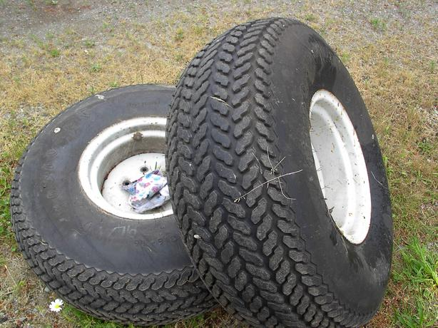 Compact Tractor Tires And Wheels : Turf tires duncan cowichan
