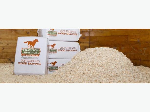 Shavings flax bed wood pellets wholesale prices outside