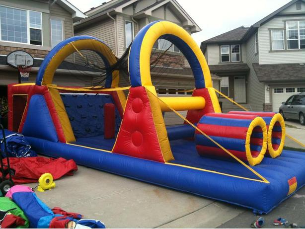 30 Foot Obstacle Course - 4 Hr Rental - For Teens & Adults Too!